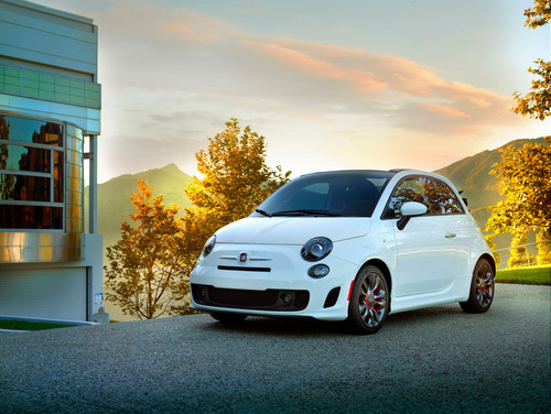 The FIAT brand partners with Conde Nast for the limited-edition Fiat 500c GQ Edition.  (PRNewsFoto/Chrysler Group LLC)