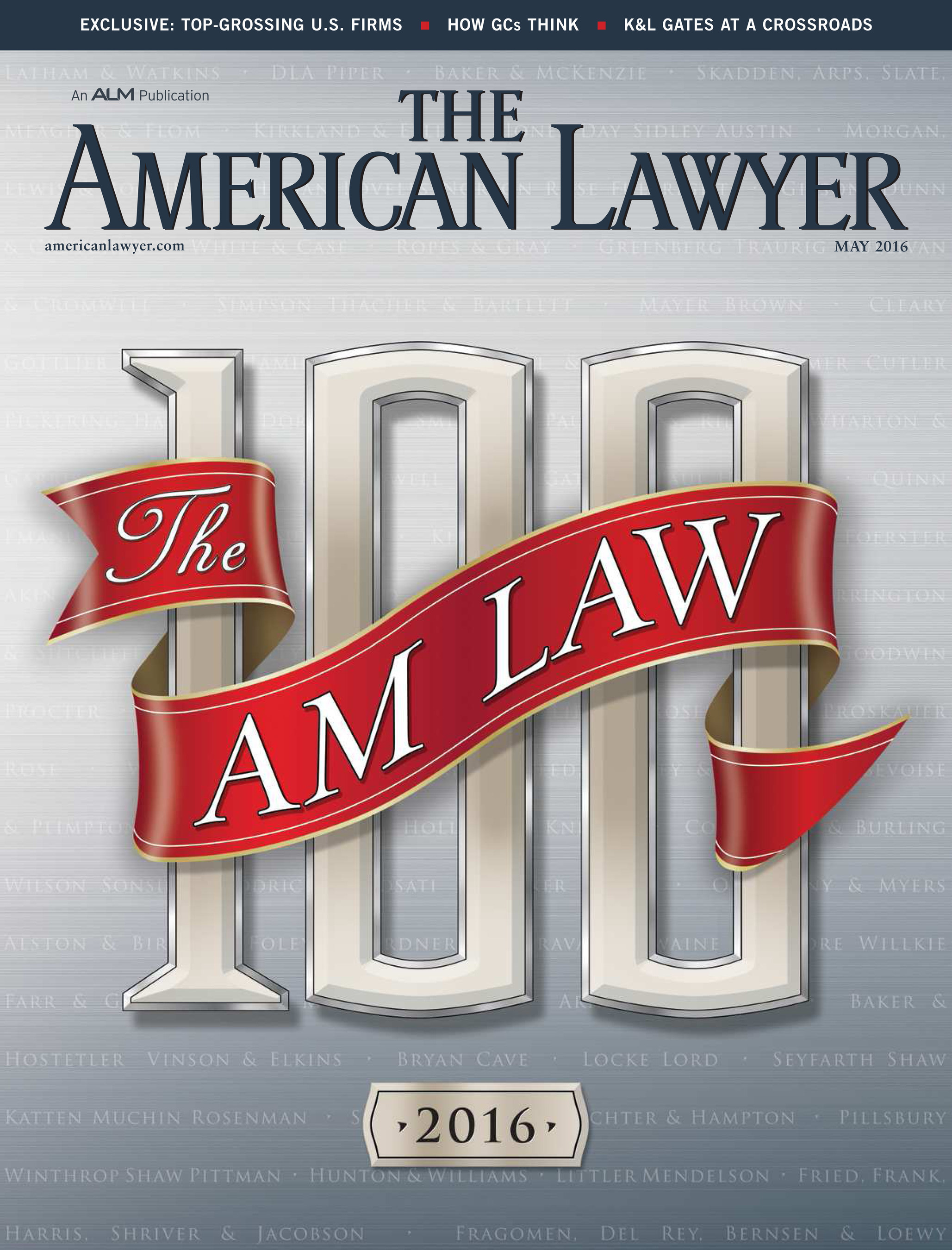 The American Lawyer May 2016 Issue