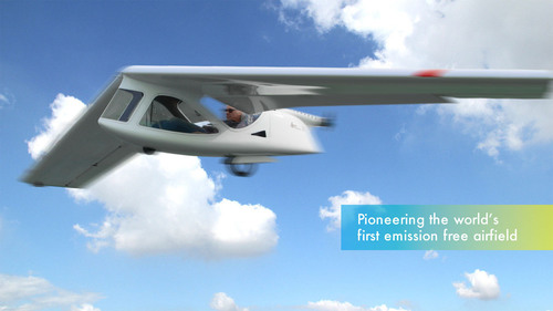 Chinese-Germany Cooperation on Pioneering the World's First Emission-Free Airfield. (PRNewsFoto/Lightway ...