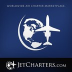 Worldwide Air Charter Marketplace JetCharters.com reports that business increase is a sign of improving market conditions (PRNewsFoto/JETCHARTERS.COM)