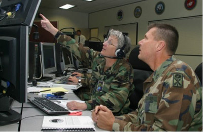 The Missile Defense Agency recognized the C2BMC team for developing