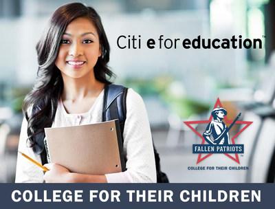 Citi e for Education campaign helps us send more military children to college.