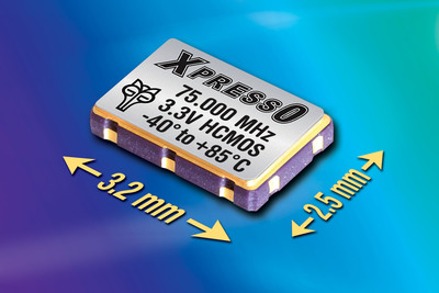 Fox's New Compact, Extended Temperature Oscillators Provide Jitter Under 1 pS RMS for Extreme Industrial Applications