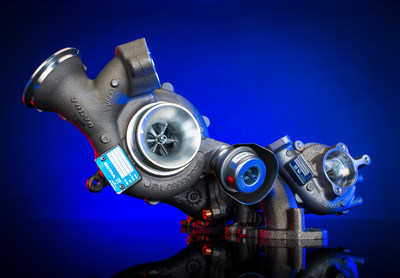 BorgWarner's R2S(R) turbocharging technology improves fuel economy and reduces emissions for Volvo's new 2.0-liter diesel engine.