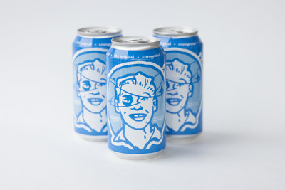 """Cuvee Coffee's Black & Blue in nitro cans from Ball Corporation wins BevNET's Best of 2015 Award for """"Best Packaging Innovation of the Year."""""""