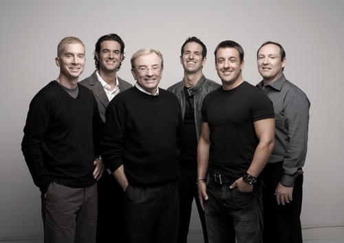 The XANGO Founders, (from left) Bryan Davis, Joe Morton, Gordon Morton, Aaron Garrity, Gary Hollister, and Kent Wood, ranked 16th on the latest Power 50 list of the most influential people in global direct sales.   (PRNewsFoto/XANGO, LLC)