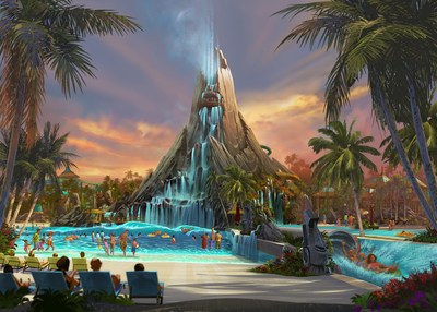 Universal Orlando Resort is bringing to life an entirely new water theme park experience - Volcano Bay at Universal Orlando Resort. It will join Universal Studios Florida and Universal's Islands of Adventure and become the resort's third incredibly immersive park, opening in 2017. (C) 2015 Universal Orlando Resort. All rights reserved.