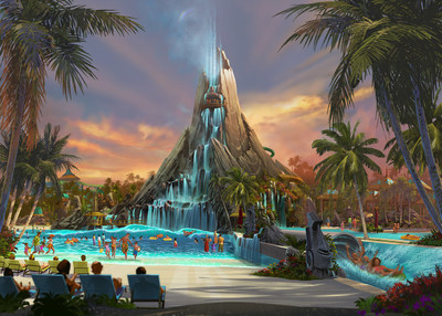 Volcano Bay at Universal Orlando Resort is just one of the new major theme park expansions making 2017 another landmark year to visit Orlando - Theme Park Capital of the World(SM).