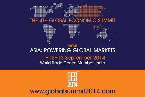 4th Global Economic Summit 2014 (PRNewsFoto/World Trade Centre Mumbai)
