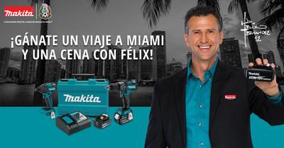 Participe para tener la oportunidad de ganar una cena con Felix Fernandez, copresentador de Univision Deportes y exarquero de la seleccion nacional mexicana de futbol.