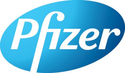 Pfizer logo.  (PRNewsFoto/EMD Serono, Inc.)