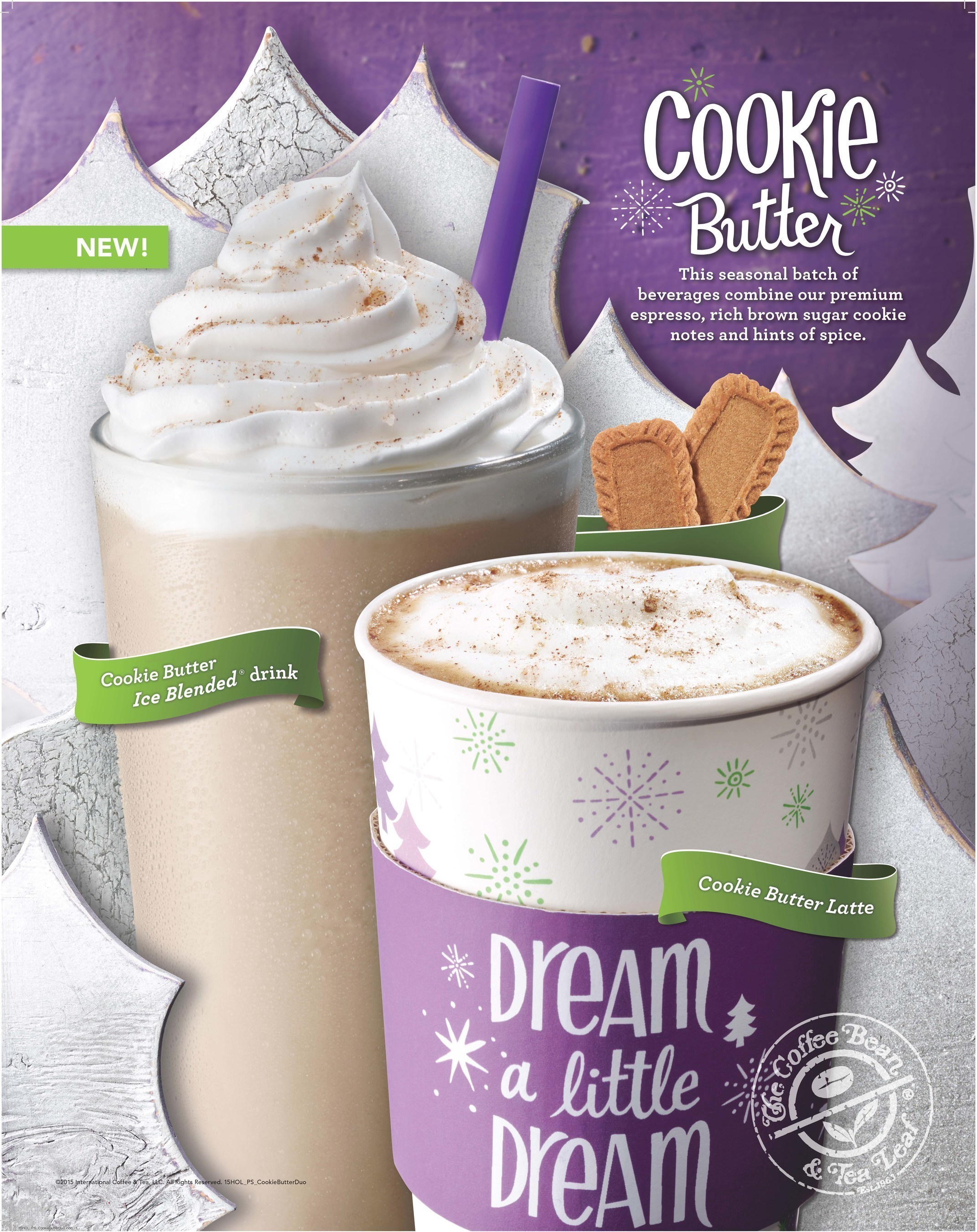 The Coffee Bean & Tea Leaf® Unwraps New Cookie Butter Beverages For