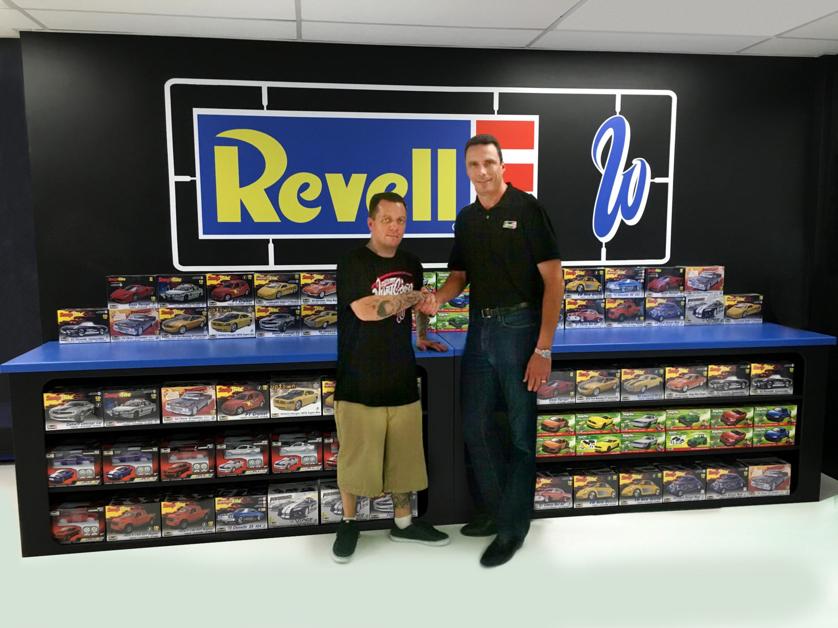 New Sponsor Revell Joins With Fox Sports 2s West Coast Customs To