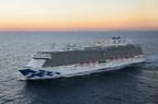 New Princess Cruises Livery Makes U.S. Debut