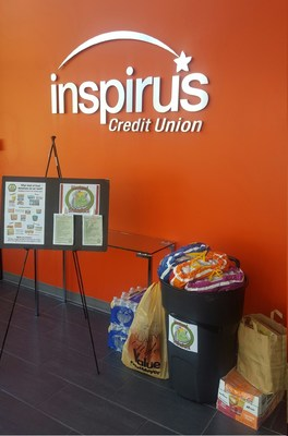 Community members partner with Inspirus Credit Union to provide food, clothing, and furniture to those affected by Tukwila house fires in early March.