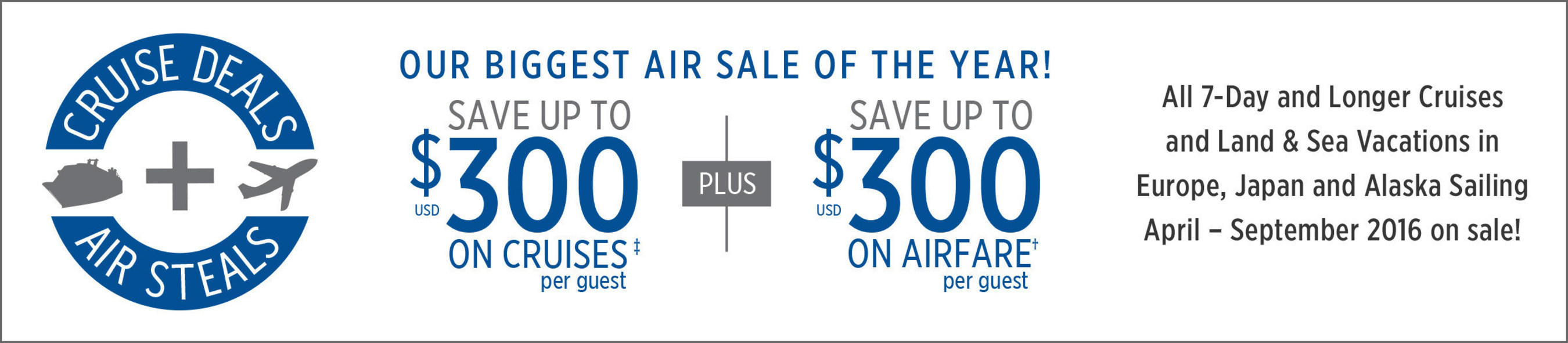 Princess Cruises Launches Biggest Airfare Sale Of The Year With - Cruises with airfare