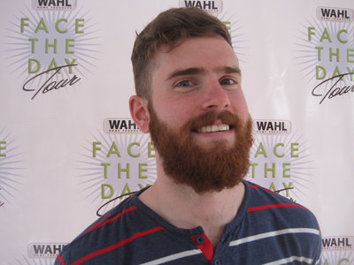 Conor Barrett from Pittsburgh is the new Wahl Man of the Year.