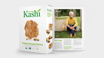 Kashi is launching a new and refreshed brand identity that reflects its belief that food should not only taste good, but do good.