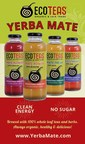 New Line Of 'Clean Energy' Iced Teas From ECOTEAS.  Beverages Feature Expertly Brewed Yerba Mate With No Extracts Or Concentrates.  The Product Line Is 100% Unsweetened.
