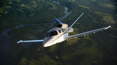 Cirrus Aircraft's Vision SF50 V1, the first verification vehicle.  (PRNewsFoto/Cirrus Aircraft)