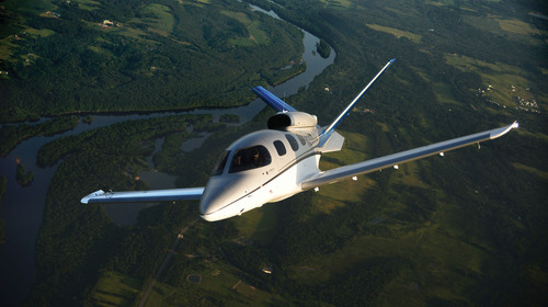 Cirrus Aircraft's Vision SF50 V1, the first verification vehicle.  (PRNewsFoto/Cirrus Aircraft)