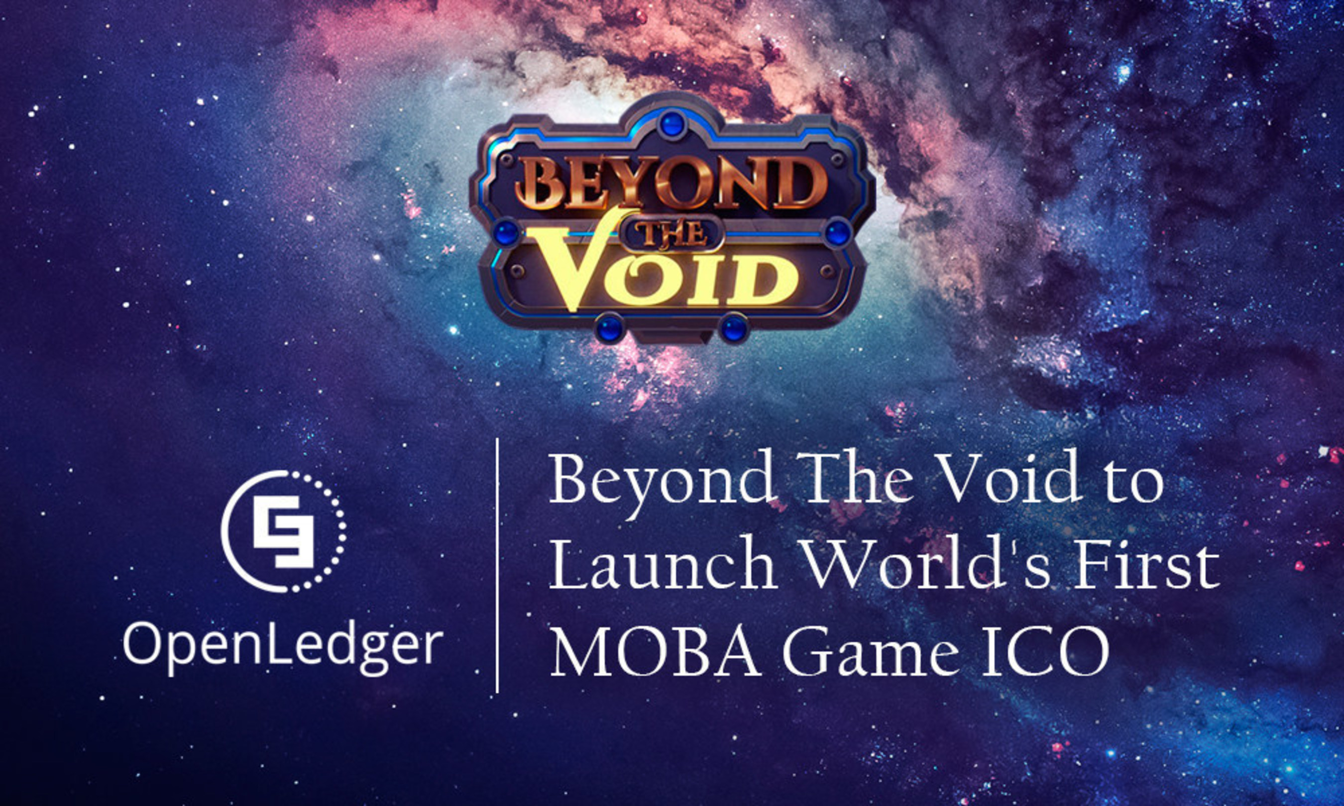 E-Sports Game Beyond the Void to Launch World's First MOBA Gaming ICO
