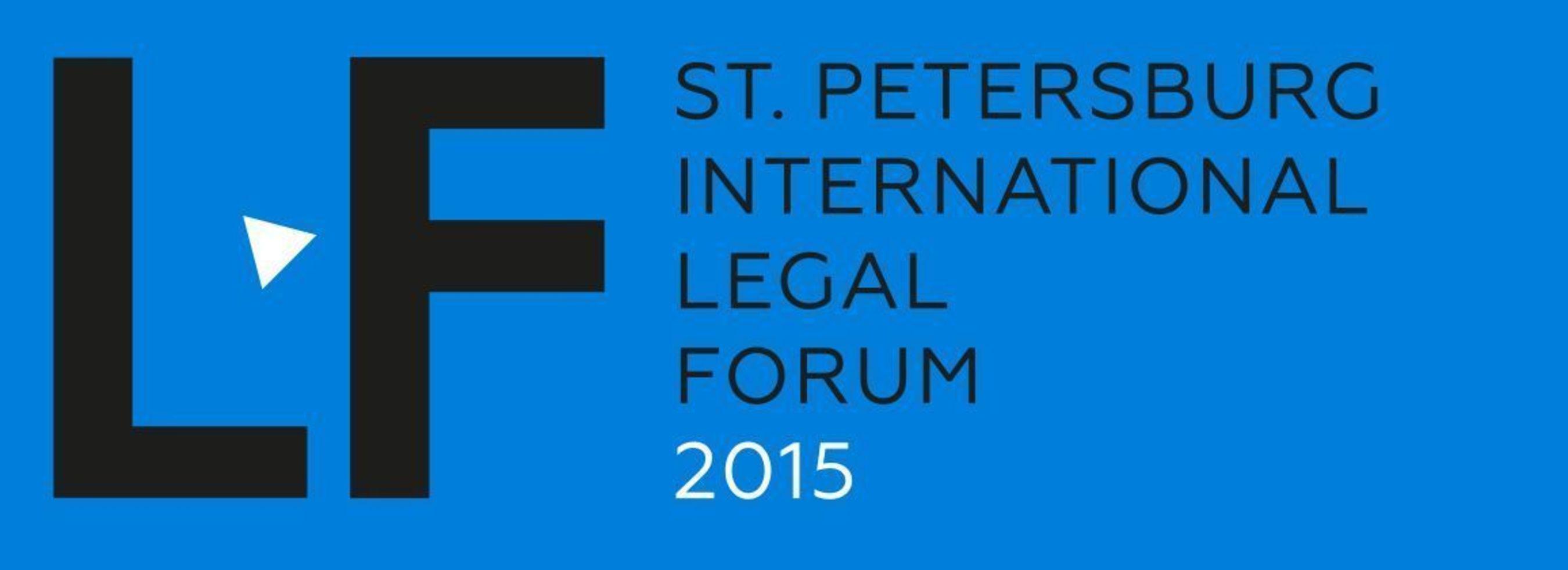 St Petersburg International Legal Forum Logo (PRNewsFoto/International Legal Forum)