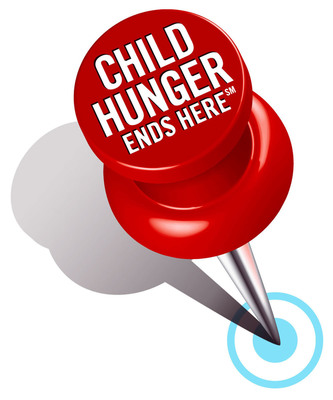 With one in four American children struggling with hunger, ConAgra Foods, in partnership with Feeding America, is asking consumers to act now by taking part in a new initiative to fight child hunger. ConAgra Foods' Child Hunger Ends Here campaign is designed to draw attention to child hunger in the United States and provide consumers with simple ways to help end it.  (PRNewsFoto/ConAgra Foods)