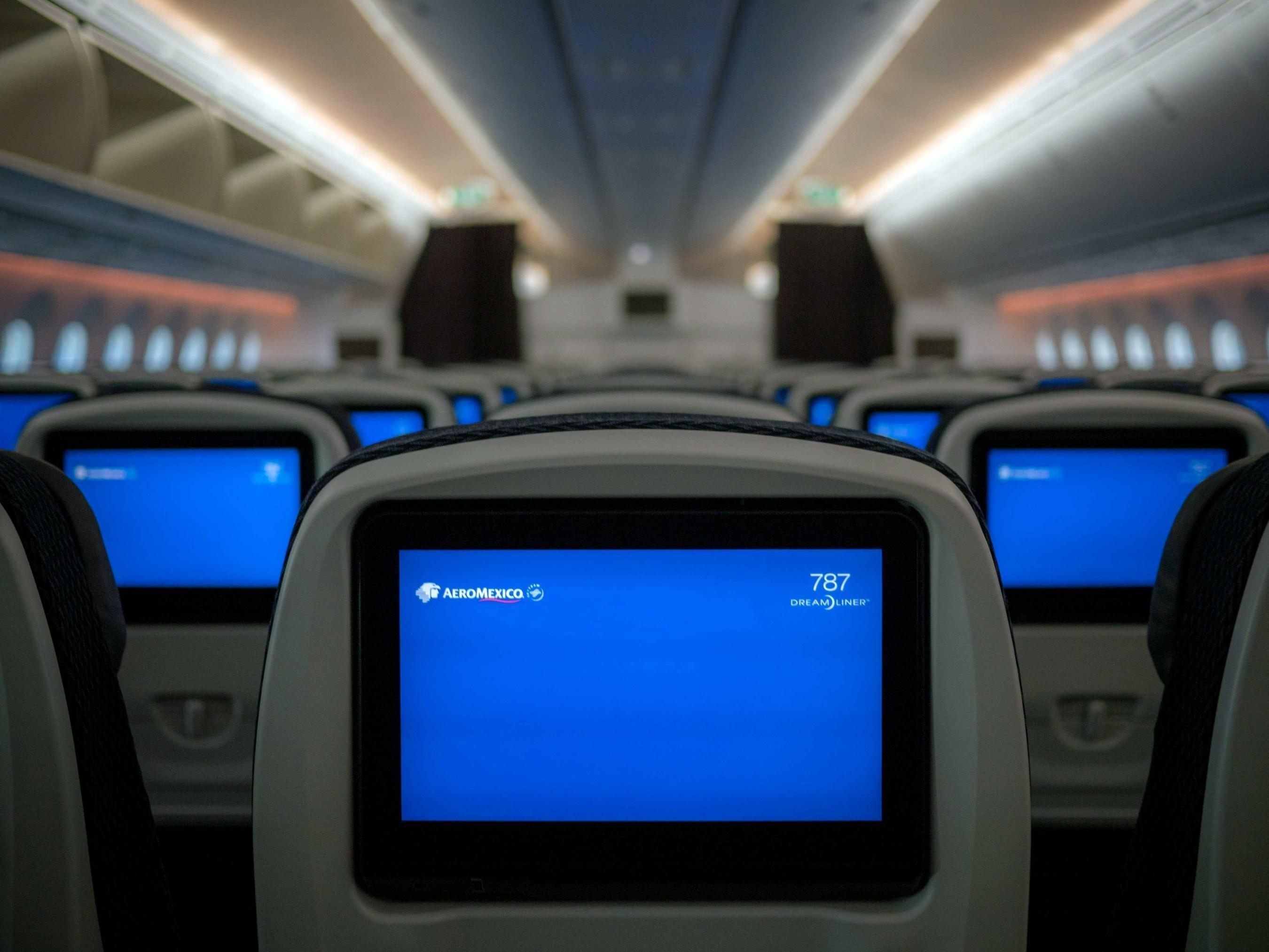 """Nuevas imagenes del Boeing 787-9 """"Quetzalcoatl"""" de Aeromexico"""