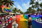 Miami Beach Pride on Ocean Drive (Photo Credit: Juan Saco)