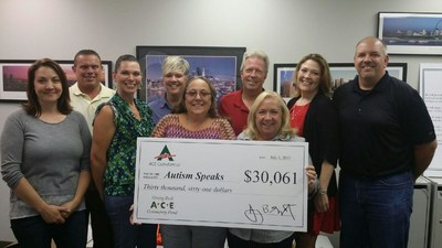ACE Cash Express Supports Autism Speaks with $30,061