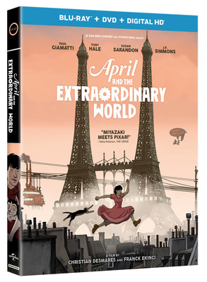 From Universal Pictures Home Entertainment: April and the Extraordinary World