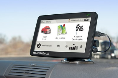 Rand McNally Releases Fourth Generation of Top-Selling IntelliRoute(R) TND(TM) GPS Devices for Commercial Drivers. IntelliRoute(R) TND(TM) 730 and 530 LM devices are redesigned inside and out. (PRNewsFoto/Rand McNally)