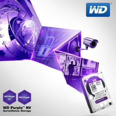 WD(R) Scales Up Surveillance-Class Hard Drive Line