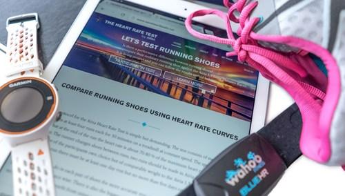 Airia Heart Rate Test (PRNewsFoto/Airia)