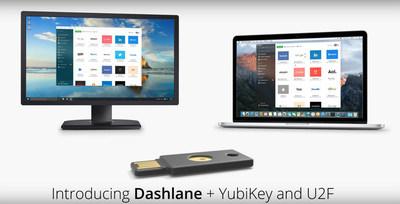 Dashlane + YubiKey 1