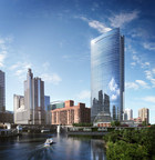 Morton Salt announced it is moving its headquarters to this new building in Chicago.