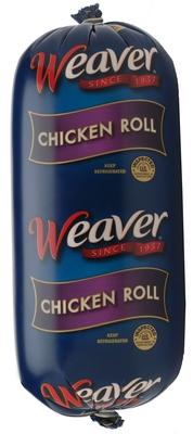 Weaver(R) Chicken Reintroduces Chicken Roll, a Family Favorite.  (PRNewsFoto/Tyson Foods, Inc.)