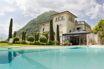 Exclusive Resorts' Villa Pendio in Lake Como, Italy