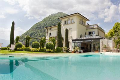 Exclusive Resorts' Villa Pendio in Lake Como, Italy