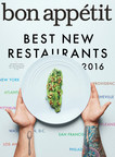 Bon Appétit Reveals The Hot 10: America's Best New Restaurants 2016