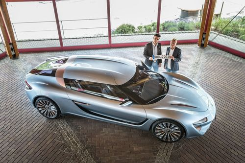 The QUANT e-Sportlimousine with nanoFLOWCELL® drivetrain concept has been officially approved by TÜV Süd in ...