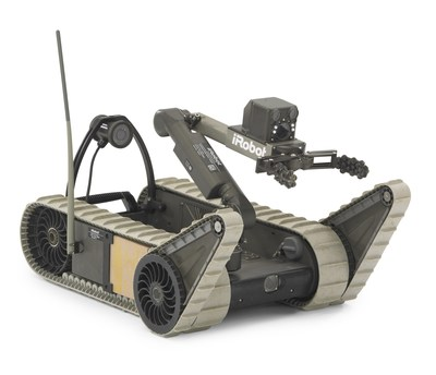 iRobot receives a $9.8 million order from the U.S. Marine Corps Systems Command for 75 SUGV robot systems. The iRobot SUGV is a man-portable robot with dexterous manipulator for dismounted mobile operations.