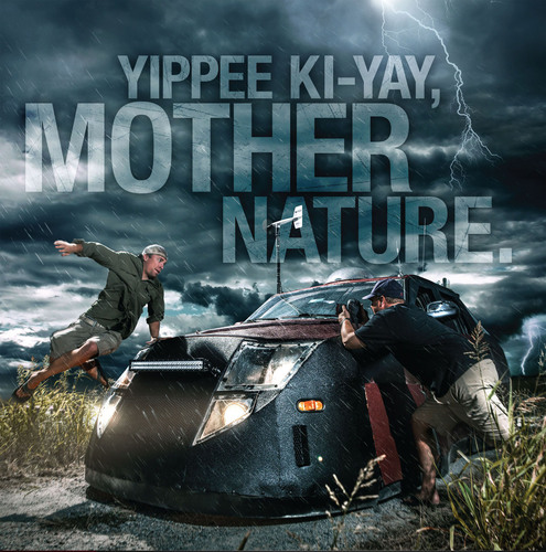 """Yippie Ki-Yay, Mother Nature,"" LINE-X Launches New ""Survive the Drive"" Advertising Campaign.  ..."