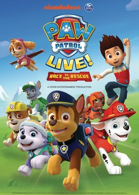 "Tickets go on sale beginning May 20 for the PAW Patrol Live! ""Race to the Rescue"" tour, presented by Nickelodeon and VStar Entertainment Group. Visit www.pawpatrollive.com for tour cities and dates."