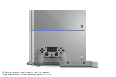 "Sony Computer Entertainment announced the ""PlayStation 4 20th Anniversary Edition"" commemorating the 20th anniversary of the original PlayStation on Dec. 3, 1994. Pictured is the limited edition PS4, DUALSHOCK 4 wireless controller, and PlayStation Camera, which come in ""Original Gray"" color reminiscent of the original PlayStation."