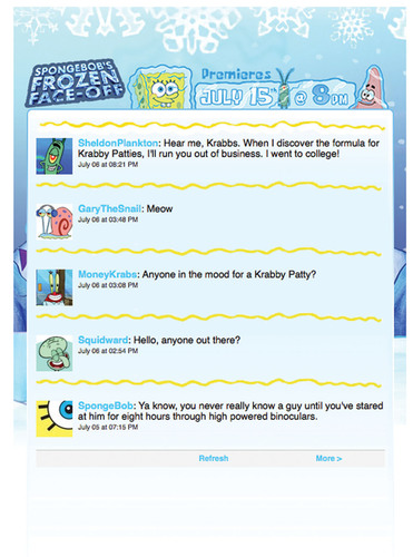 Nickelodeon's SpongeBob SquarePants Breaks New Ground With Exclusive Made-for-Twitter Adventure, July ...