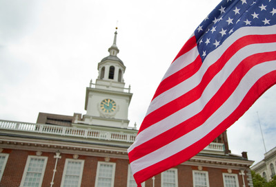 Independence Hall in Philadelphia, PA.  (PRNewsFoto/Greater Philadelphia Tourism Marketing Corporation, M.Edlow for GPTMC)
