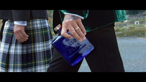 David Beckham carrying a bottle of HAIG CLUB in the brands first advert directed by Guy Ritchie ...