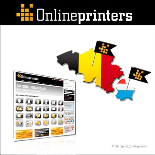 New online shops in Belgium and Luxembourg. As from now, customers of Onlineprinters GmbH can conveniently order their print products online at reasonable prices from onlineprinters.be and onlineprinters.lu. Companies and private customers find all standard print products in the online print shop, including flyers, postcards, posters, banners, catalogues, brochures and advertisement systems in premium offset and digital printing quality. Copyright: Onlineprinters GmbH / iStockphoto.com